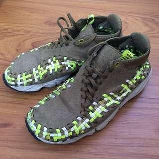 Nike air footscape woven chukka 編織鞋 軍用 配色 Outdoor