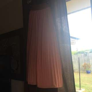 Long Flowy Beach Skirt ICE: Size XS.