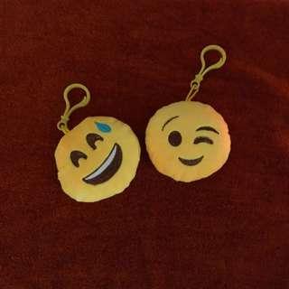 Emoji Keychains