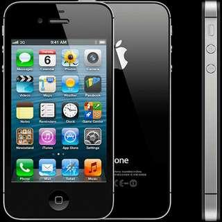 Apple Black iPhone 4S 16GB - Unlocked