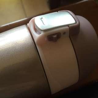 德國HOPE歐普】450cc安全彈蓋式雙層不鏽鋼保溫瓶(浪漫藕)