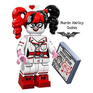 Lego Batman Movie Nurse Harley Quinn