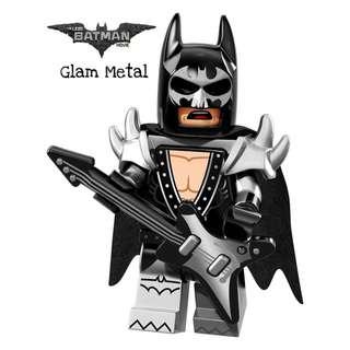 Lego Batman Movie Glam Metal Batman
