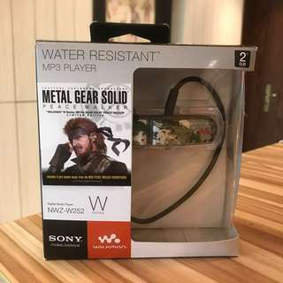 Sony Metal Gear Solid mp3 Player