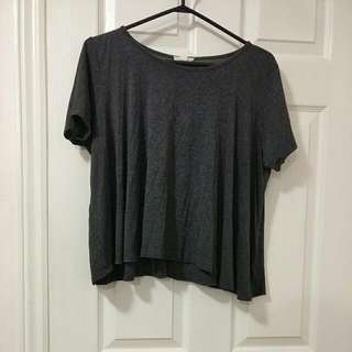 Dark Grey Top (Size L)