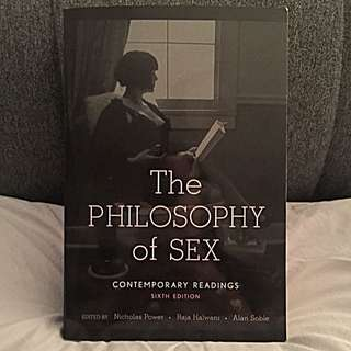 The Philosophy Of Sex (Sixth Edition)