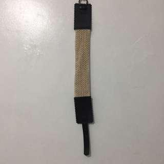 Forever21 Crochet Elastic Belt S-M