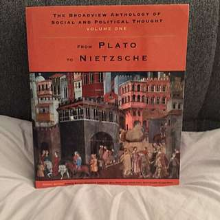 The Broadview Anthology Of Social And Political Thought : From Plato To Nietzsche