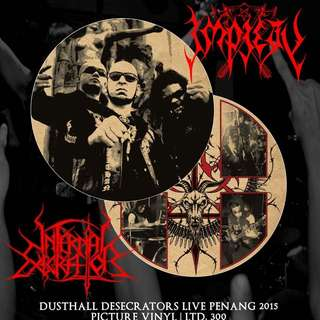 "Impiety/Infernal Execrator ""Dusthall Desecrators Live Penang 2015"""