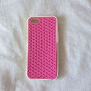 iPhone 5/5S Pink and White Vans Case