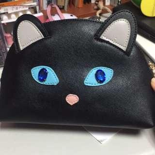 個性黑貓肩背小包