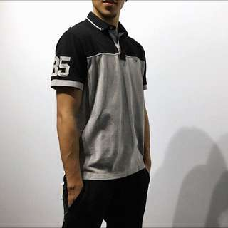 Tommy Hilfiger Button-up T-Shirt (M)