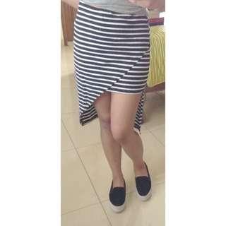Zalora Stripe Skirt