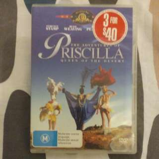 Priscilla Queen Of The Desert DVD