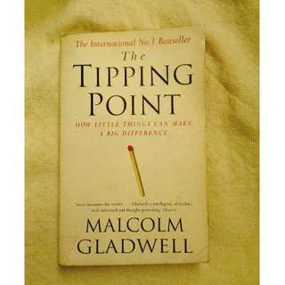 The Tipping Point by Malcolm Gladwell