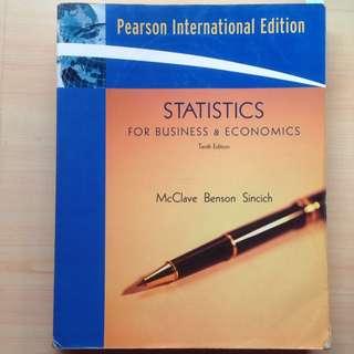 Statistics For Business & Economics 統計