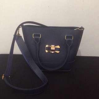 Blue Army Bag