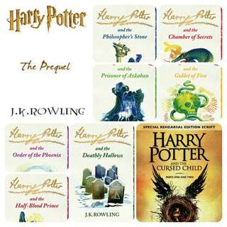 Harry Potter 9 Series Book With Prequel