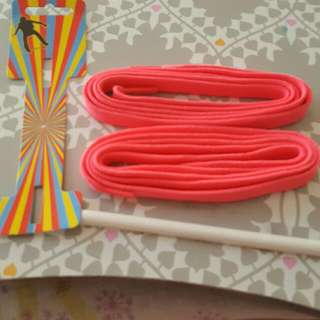 Neon Pink Shoelaces. BRAND NEW