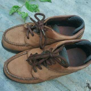 Hush Puppies Leather Outdoor Shoes