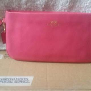 REDUCED PRICE Coach Wristlet/wallet