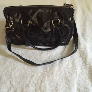 Armani Exchange Patent Leather Bag