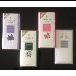 Brand new 125ml Yardley London Perfumes (Assorted Scents)