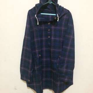 Navy Plain Flannel