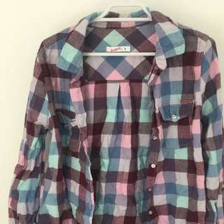 Supre Pink Flannel