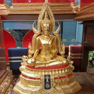 Phra Chinnaraj BE 2531 from Wat Phra Si Rattana Mahathat  this batch of phra Chinnaraj was oder to made by Thai King Bhumibol Adulyadej Rama IX the grand ceremony was at wat phra si rattana mahathat pitsannolok provide