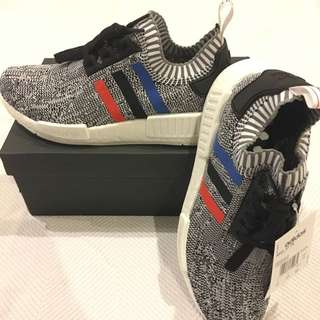 NMD R1 PK Tricolor Size 7.5 US 7 UK