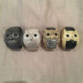 Owl Clasp Bracelets