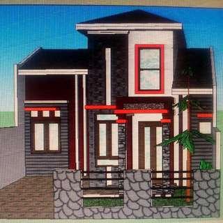 Rumah Minimalis Sedang Dibangun