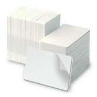 Adhesive Cards Supplies 30 Mil For Card Printer