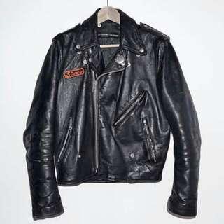 🚚 七十年代 HARLEY DAVIDSON 哈雷二手真皮騎士外套