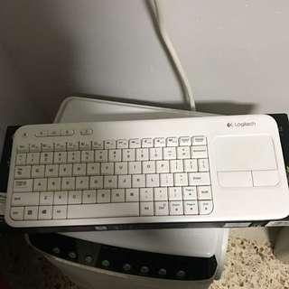 Logitech Wireless Touch Keyboard