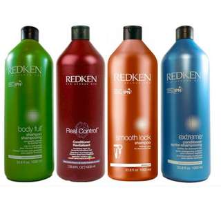Redken 1L Hair Care Duo Pack for a Range of Hair Types, YOU CHOOSE NEW