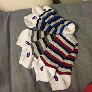 Champion 條紋襪