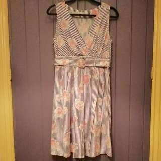Floral Dress Au 12