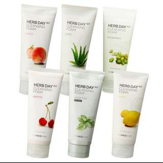 The Face Shop (Herb Day 365 Cleansing Foam)