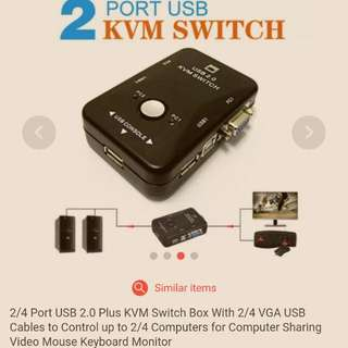 USB and RGB computer Switch