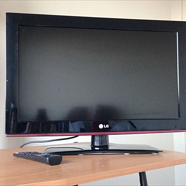"26"" LG TV With Stand"