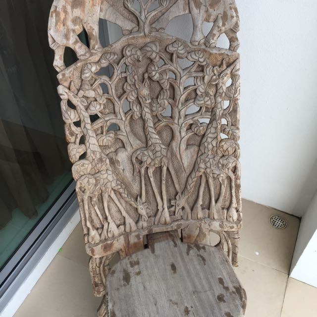 African Craft Chair