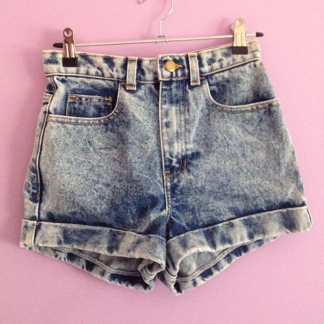American Apparel Brand New Denim Shorts