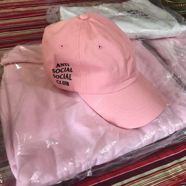 AntiSocialSocialClub 'Weird Cap' - Pink