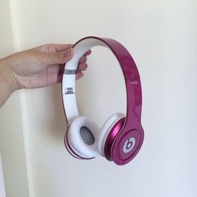 Authentic BEATS By Dre SOLO HD Headphones