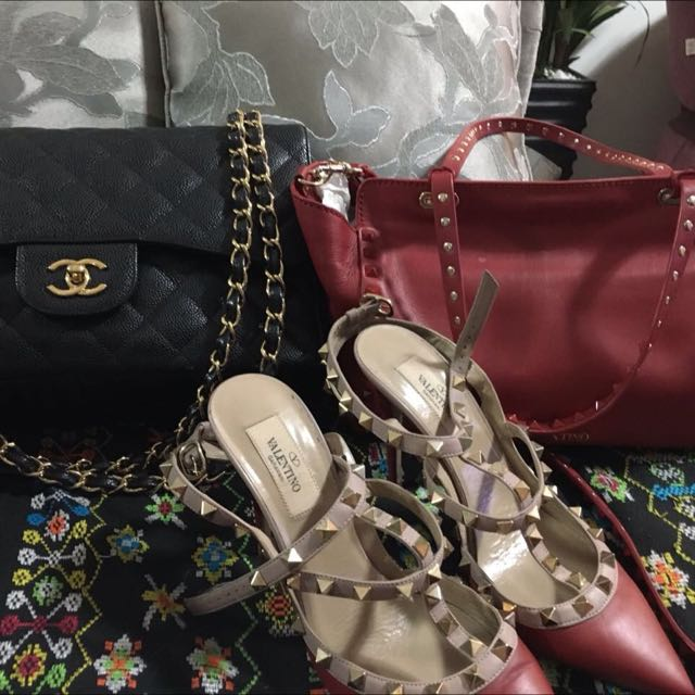 AUTHENTIC Chanel And Valentino