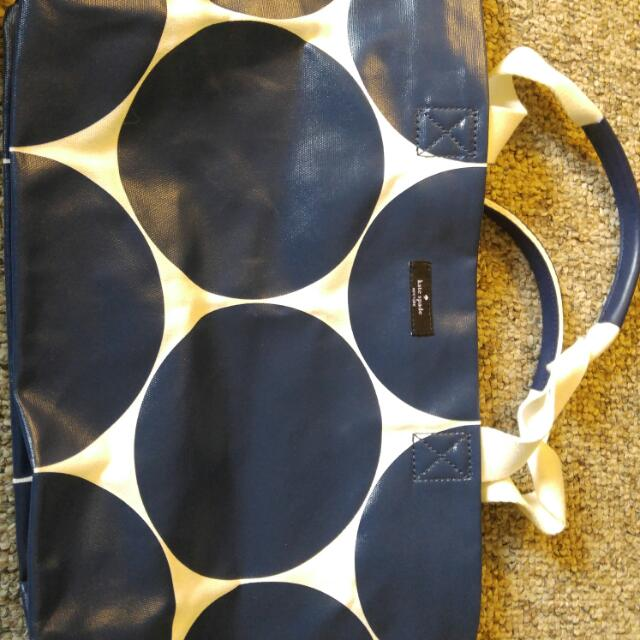 Authentic Large Kate Spade Tote Bag