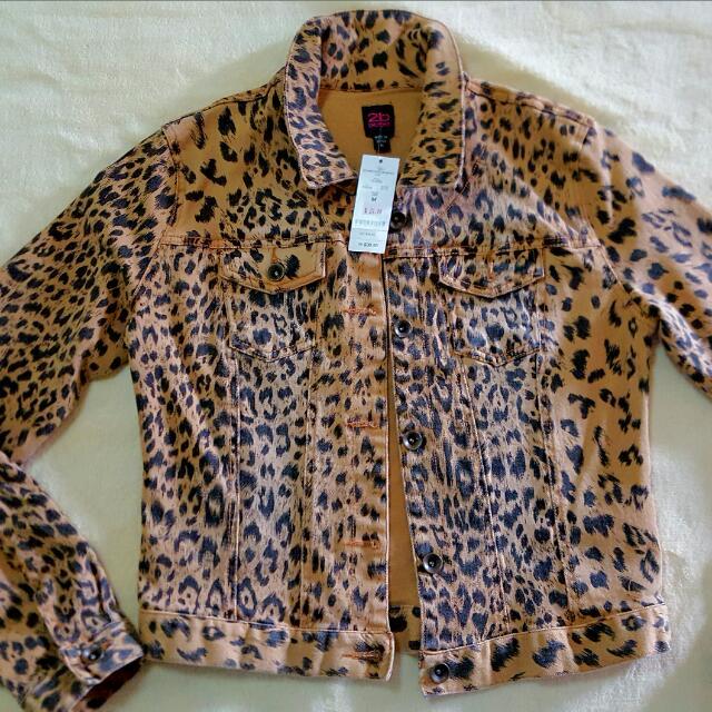 Bebe Tiger Jacket