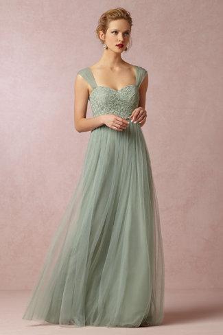 BHLDN Juliette Dress (by Jenny Yoo) in Sea Glass - size 6/8